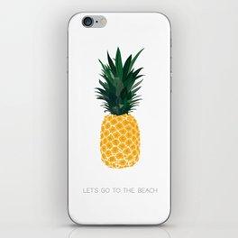 PINEAPPLE VIBES iPhone Skin