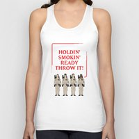 ghostbusters Tank Tops featuring Ghostbusters Quote by V.L4B