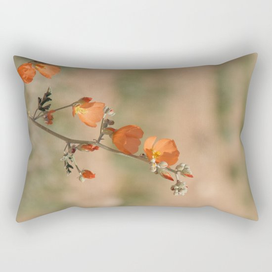 Desert Wildflower - 1 Rectangular Pillow
