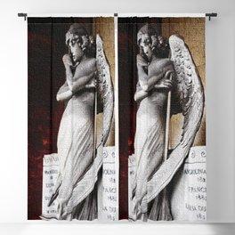 Angel of the Resurrection - Oneto Family Plot Portrait #2 by Jeanpaul Ferro Blackout Curtain