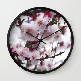 PLUM BLOSSOMS Edition02 Wall Clock