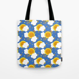Celestial Kawaii Tote Bag