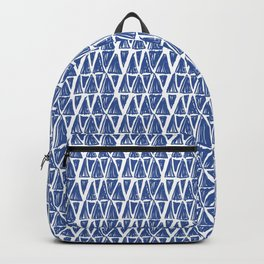 Floral Heart and Pattern Backpack