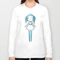 polka dot Long Sleeve T-shirts featuring Polka Dot by Freeminds