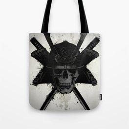 Samurai Skull Tote Bag