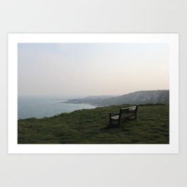 The White Cliffs of Dover, England (2012) Art Print