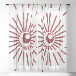 Sunshine / Sunbeam 10 Sheer Curtain