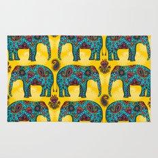 elefantes Rug