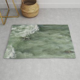 Catching the Wave Rug