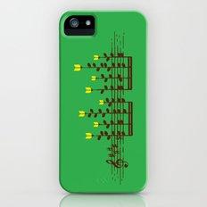 Music notes garden iPhone (5, 5s) Slim Case