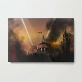 St. Pauls Cathedral - Defiance Metal Print