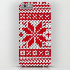 Winter knitted pattern 6 iPhone 6s Plus Slim Case