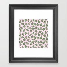 Fittonia Leaves Framed Art Print