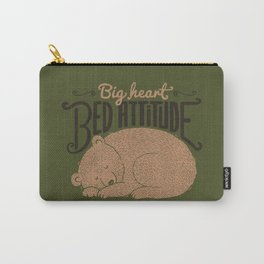Big Heart Bed Attitude Carry-All Pouch