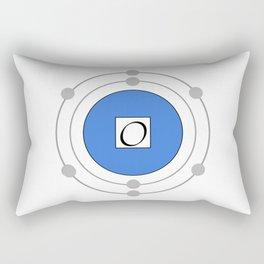 Oxygen - Bohr Model Rectangular Pillow