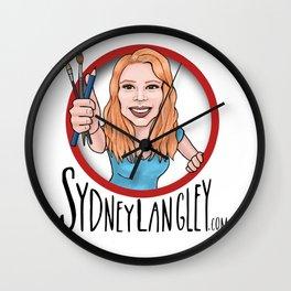 Sydney Langley Illustration Logo Wall Clock