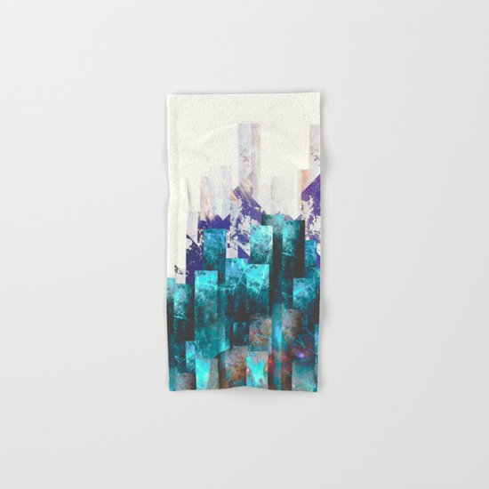 Cold cities Hand & Bath Towel