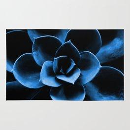 Dark Blue Succulent Plant #decor #society6 #homedecor Rug