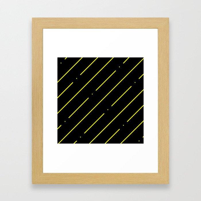 CAD HATCH: ANSI35 Framed Art Print