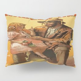Ragged Hero Pillow Sham