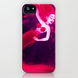 Red Mermaid iPhone Case