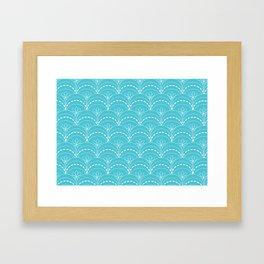 Branding Pattern Framed Art Print