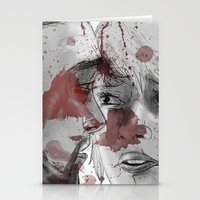 dead space Stationery Cards featuring DEAD SPACE by Miss Kicks