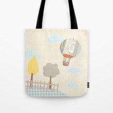 baloon collage Tote Bag