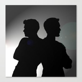 sometimes we have to argue 1/2 Canvas Print