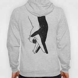 Let's forget and dance. Hoody