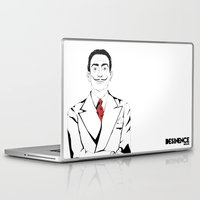 salvador dali Laptop & iPad Skins featuring Salvador Dali by ArpanDholi