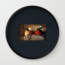 Ramona Bull Wall Clock
