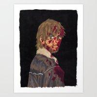 rick grimes Art Prints featuring Rick Grimes by Megan