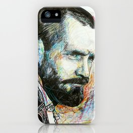 Charles Manson iPhone Case
