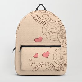 coffee with love Backpack
