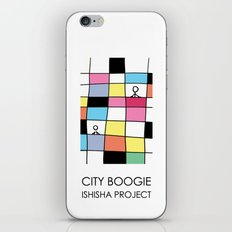 CITY BOOGIE  by ISHISHA PROJECT iPhone & iPod Skin