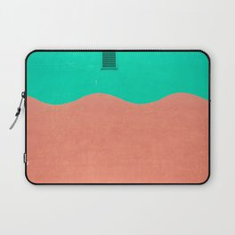 Coral and Seafoam Laptop Sleeve