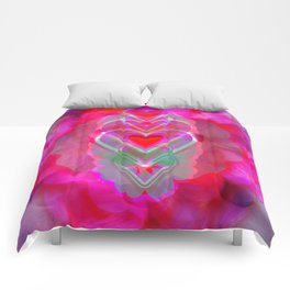The Hearts Mantra Comforters