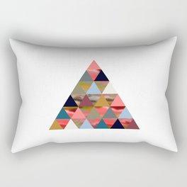 Thinker Triangle Rectangular Pillow