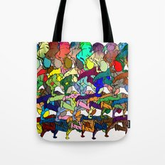 B-Boy in Motion Tote Bag