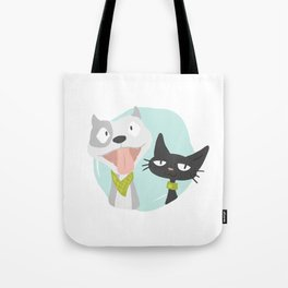 Pit and Friend Tote Bag