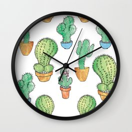 The Other Cactus Wall Clock