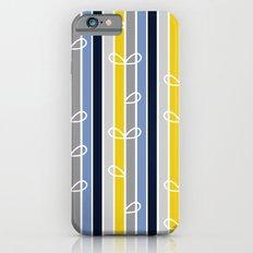 flower stripe iPhone 6s Slim Case