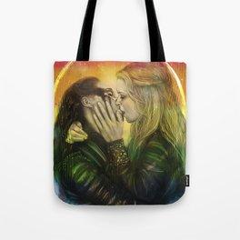 Rainbow Clexa Tote Bag