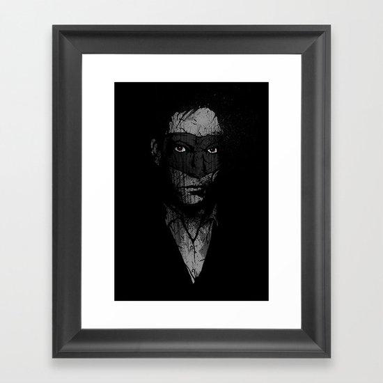 Father Hazard (Red Eyes) Framed Art Print