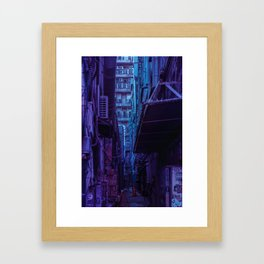 Tokyo Nights / Shadow of The Day / Liam Wong Framed Art Print
