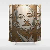 murray Shower Curtains featuring Murray by Blake Byers