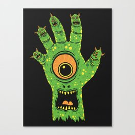 Finger Monsters Canvas Print