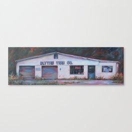Blythe Tire Co. Canvas Print