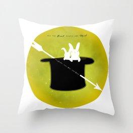 MAD ARCHER Throw Pillow